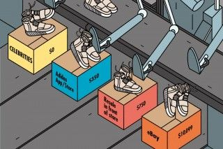 How Kanye West's YEEZY Sneakers Have Boosted the Resale Market