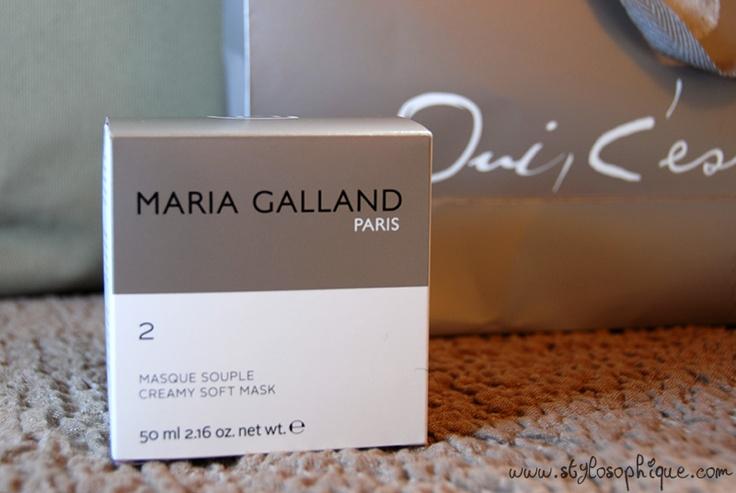 STYLOSOPHIQUE - Moda, Make Up & Lifestyle: REVIEW || Maria Galland Paris - Masque Souple 2