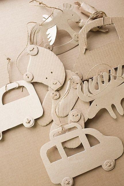live journal blog - cardboard art decorations
