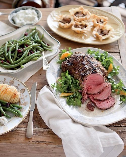 Mustard-Roasted Beef Tenderloin - Martha Stewart Recipes