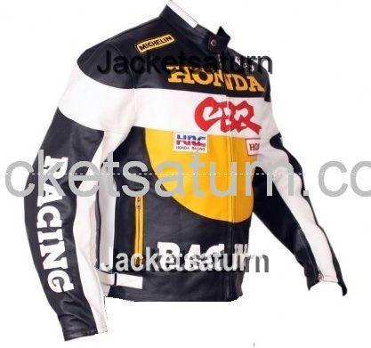 honda CBR mens leather jacket | jacketsaturn.com