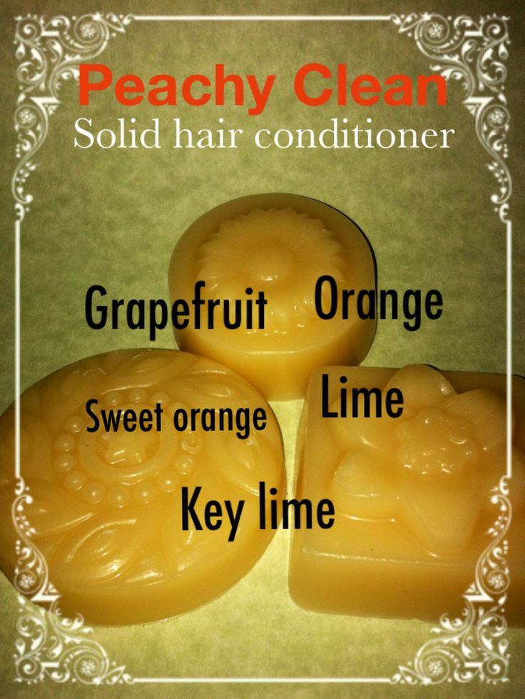 how to make shampoo and conditioner bars