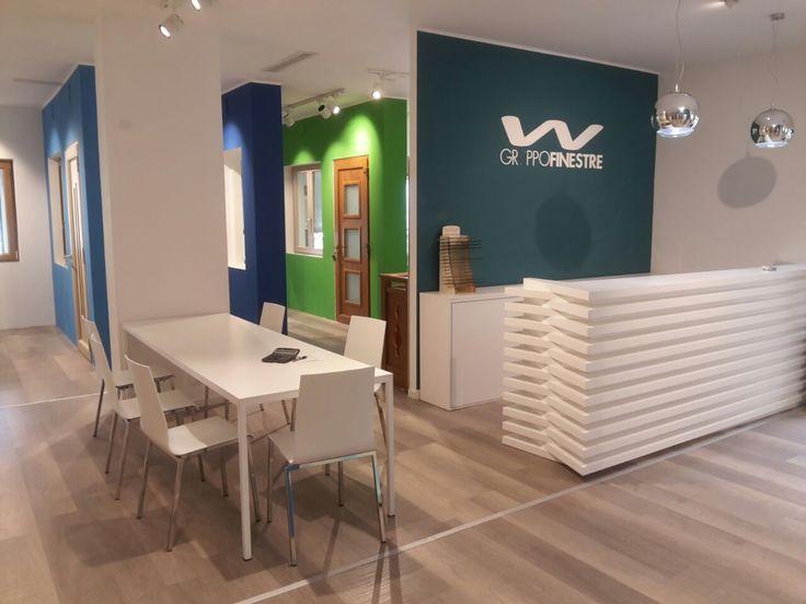 Progettazione Showroom per Gruppo Finestre -  Lavoro per Barberini Allestimenti #progettazione #showroom #exhibit