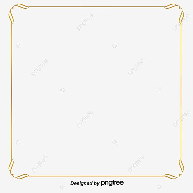 Gold Lace Gold Border Design Gold Clipart Ribbon Png