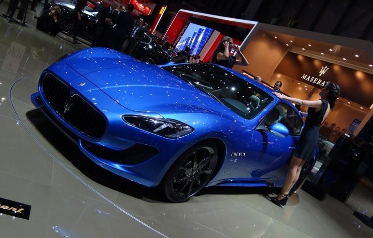 Maserati GranTurismo Sport: Geneva 2012