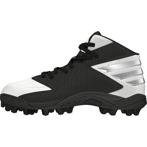 Adidas Men's Freak MD Wide Football Cleats (Footwear White/Platinum/Core Black, Size 12) - Football Shoes at Academy Sports