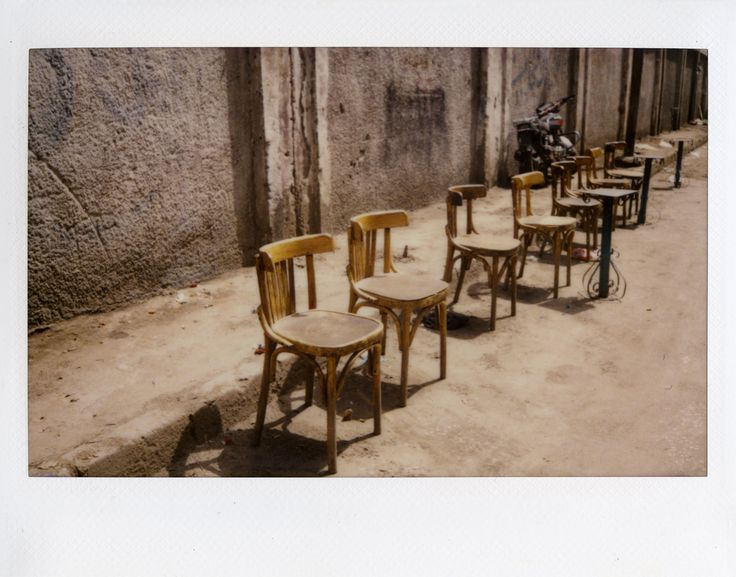 1001 Street Chairs of Cairo