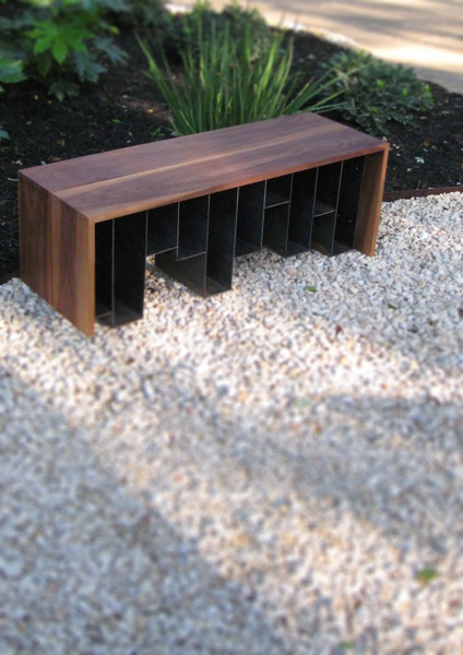 Delightful A Perfect Modern Bench For Your Garden.