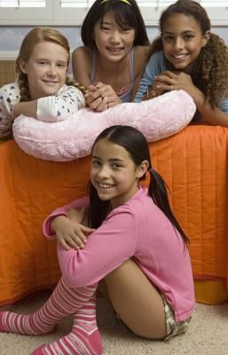Twelve-year-old girls are preteens who often want to feel more grown-up. A birthday party for a 12-year-old girl can include activities that allow her to feel more grown-up while still being able to ...