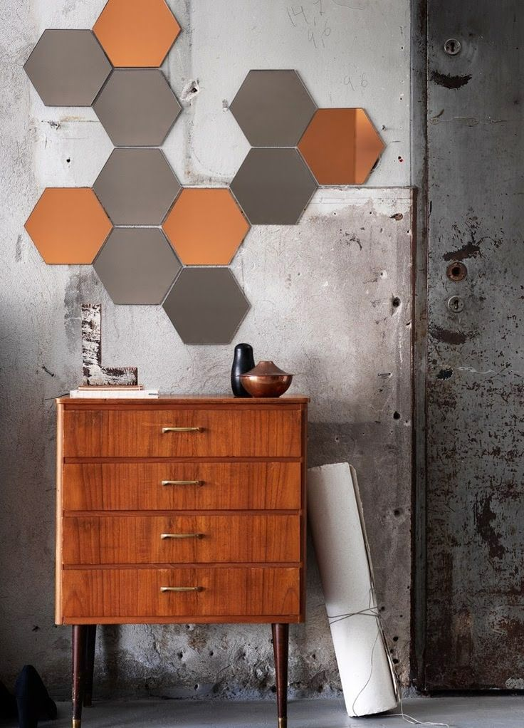 Hönefoss Mirror Tiles: Remodelista