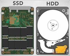 Pevný disk -SSD HDD
