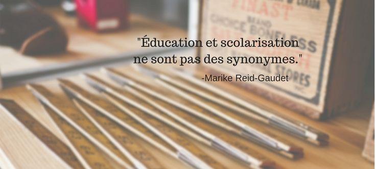 La non-scolarisation, prochaine révolution éducative au Québec?