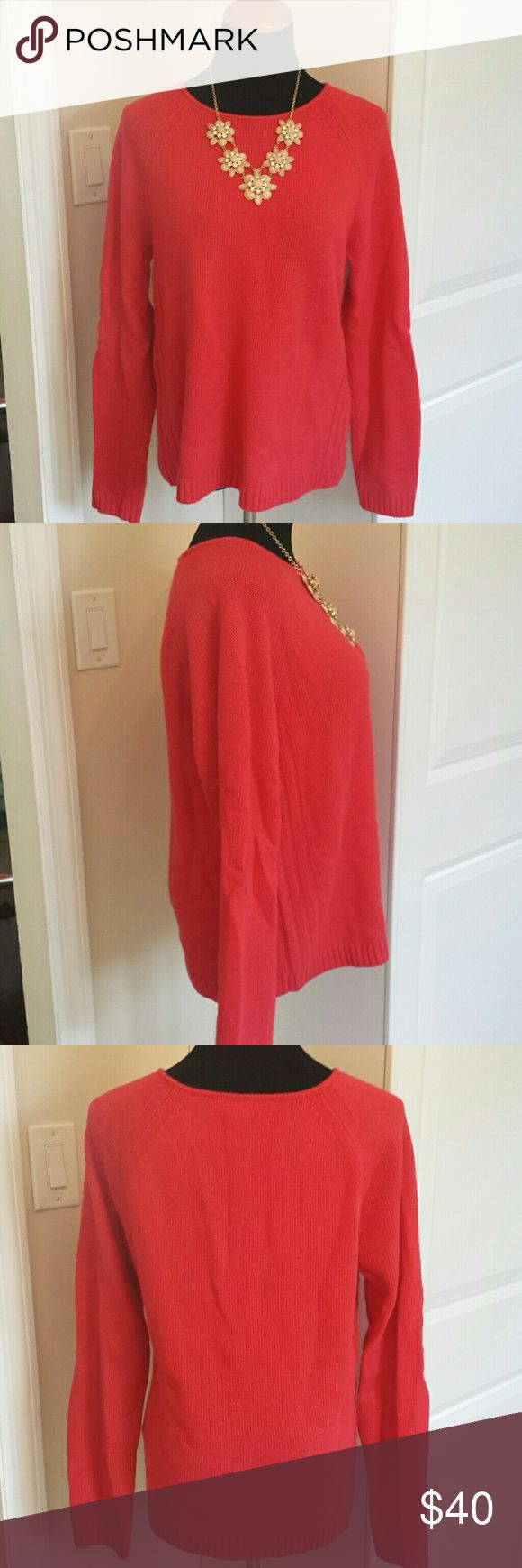 NWOT hot pink oversized fuzzy J. Crew sweater Super cute soft and fuzzy wide neck sweater from J. Crew.  Tagged size L but is cut to be a buy oversized. Baggy and cute. Perfect for pairing with jeans or leggings. Color is hot pink, most like what's shown in last picture. Brand new, never worn. Feel free to make an offer! J. Crew Sweaters