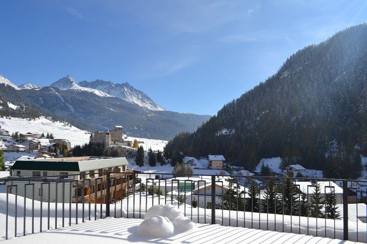 Ausblick skysauna arabella nauders wow skiurlaub for Design hotels skiurlaub