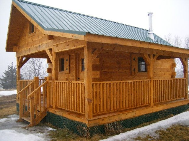 Amish crafted log cabins cabana de campo pinterest for Amish floor plans