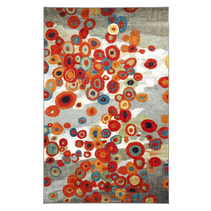 Tossed Floral Multi Rug (8' x 10') | Overstock.com Shopping - Great Deals on Mohawk Home 7x9 - 10x14 Rugs