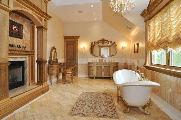 20 Luxurious Master Bathrooms You Will Never Want To Leave   Window  treatments  Mansions and Luxury bathrooms. 20 Luxurious Master Bathrooms You Will Never Want To Leave