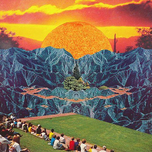 Parque del Sol | par Mariano Peccinetti Collage Art