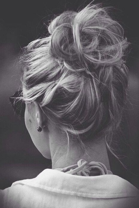 Pretty Messy Updo Hairstyles for Summer
