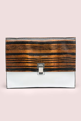 Proenza Schouler Large Lunch Bag Printed Ayers Strope, $965, available at Proenza Schouler.