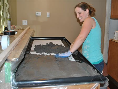 helpful hints on diy concrete countertops! Thank you!