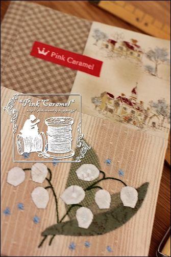 Pink Caramel: ノートブックカバー できた!