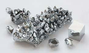 Chromium -   Chromium is a chemical element which has the symbol Cr and atomic number 24. It is the first element in Group 6. It is a steely-gray, lustrous, hard and brittle metal which takes a high polish, resists tarnishing, and has a high melting point. For further details visit www.microlifeindia.org