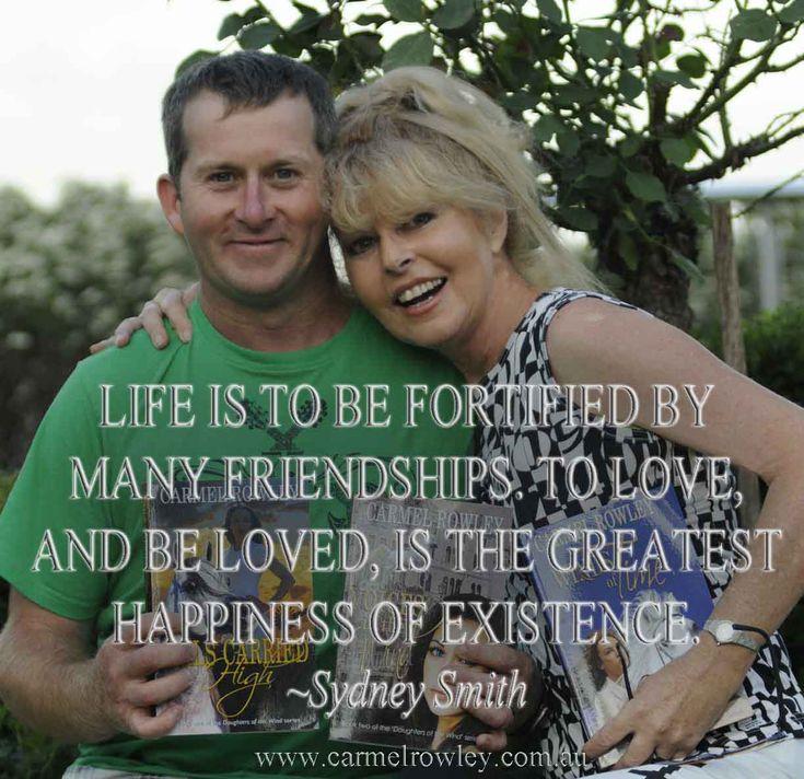 TRUE FRIENDS = A HAPPIER LIFE