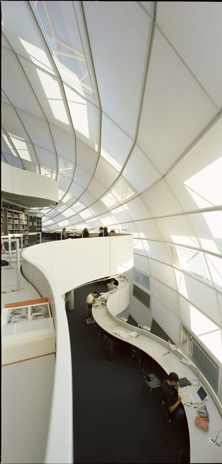 Gallery of Free University's Philology Library / Foster + Partners - 10