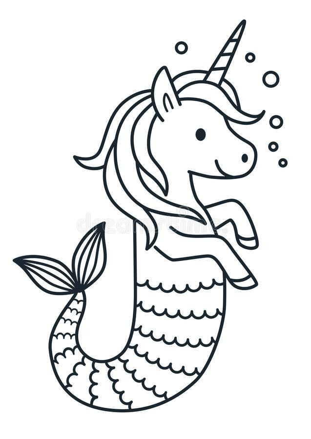 Baby Mermaid Coloring Page Youngandtae Com Mermaid Coloring Book Mermaid Coloring Pages Unicorn Coloring Pages