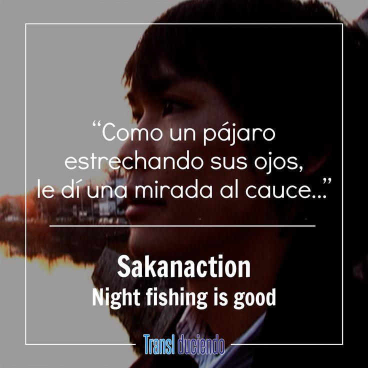 ¡Hola! Hoy presentamos una canción sobre la pesca, es un tema inusual, sin embargo, por sugerencia de un lector llegamos a ella. La intención de Yamaguchi (el vocalista y compositor) es expresar las diferentes emociones que se experimentan al pescar, especialmente en la noche, para ello se inspiró en musicales y en la banda Queen, llegando a este resultado. Puedes ver la traducción completa aquí:  https://goo.gl/dEX6SD #Sakanaction #NightFishingIsGood #NightFishing #JRock #JMusic  Si te…