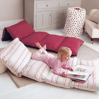 Bed in a Bag: assemblage de taies d oreiller