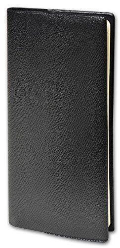 Quo Vadis – 1 Agenda Semainier Italnote S Impala Noir – Janv. à Déc. 2018 – 8,8×17 cm: 1 semaine sur 2 pages Attention : Pas de répertoire…