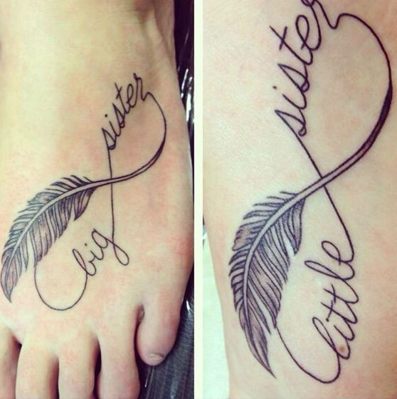 32 Inspiring Sister Tattoo Design Ideas
