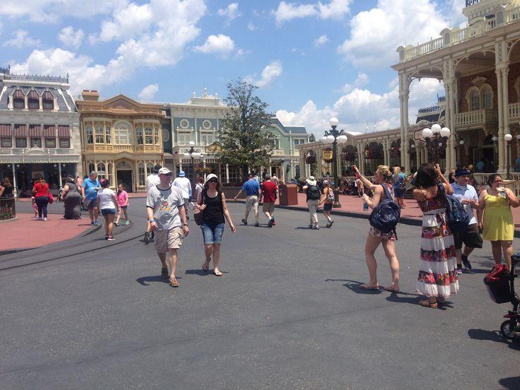 Main Street no Disney World #Disney