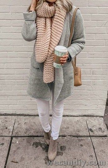 30 Gorgeous Women Winter Outfits To Inspire You | WeCanDIY