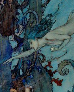 Edmund Dulac - ''The Mermaid''