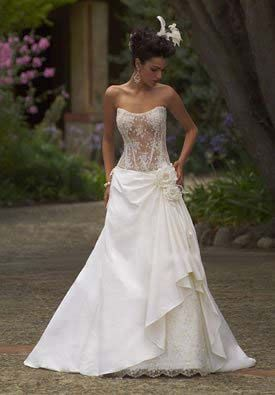 Hot Corset Wedding Dresses - http://casualweddingdresses.net/corset-wedding-dresses-sexy-and-elegance-in-one/