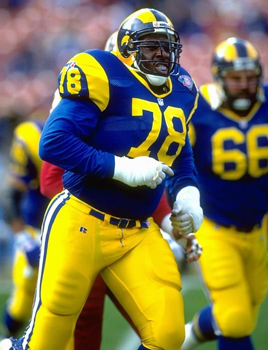 Jackie Slater, 7-time Pro Bowler inducted into the Pro Football Hall of Fame in 2001.