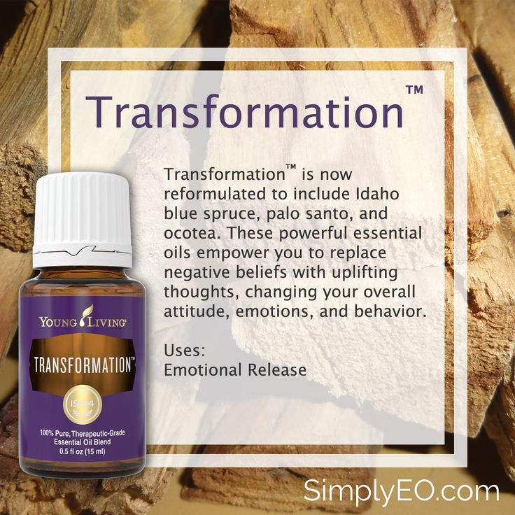 Transformation 15ml Essential Oil Young Living