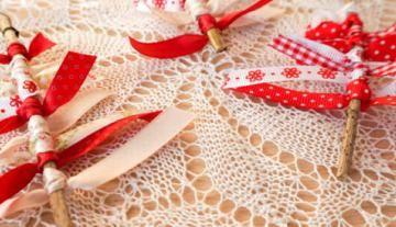 Weihnachtsbaumschmuck mit Kindern basteln   5 einfache Ideen für Kinder ab 3 Jahren