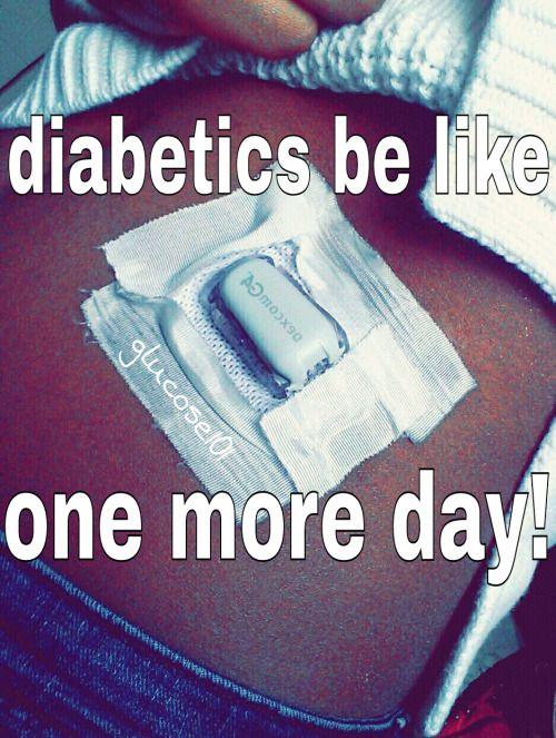 diabetes joke about sensor