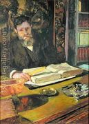 Arthur Fontaine (1860-1931) c.1906  by Edouard (Jean-Edouard) Vuillard