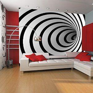 Fotomural 350×270 cm ! Papel tejido-no tejido. Fotomurales – Papel pintado 350×270 cm – abstracción 100401-6 :