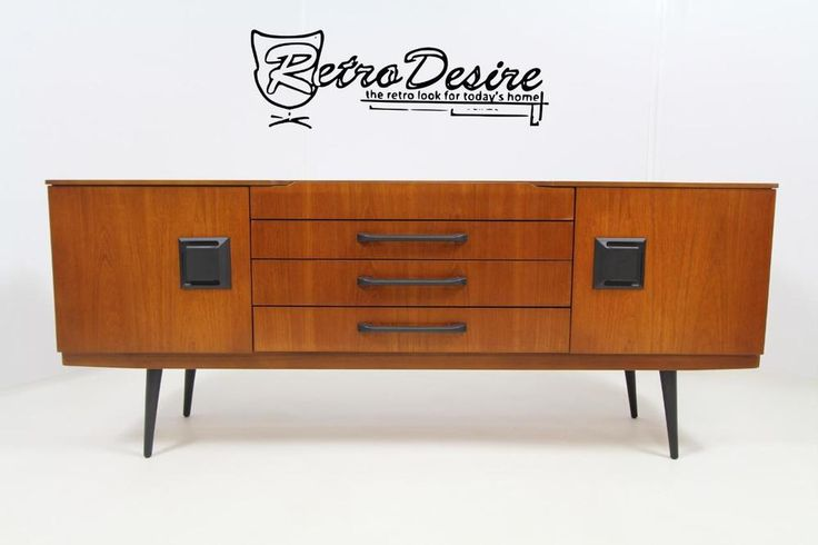 RETRO TEAK BEAUTYLITY SIDEBOARD 1970'S, G PLAN ERCOL MCINTOSH HAIPIN ERA. in Home, Furniture & DIY, Furniture, Sideboards & Buffets | eBay!