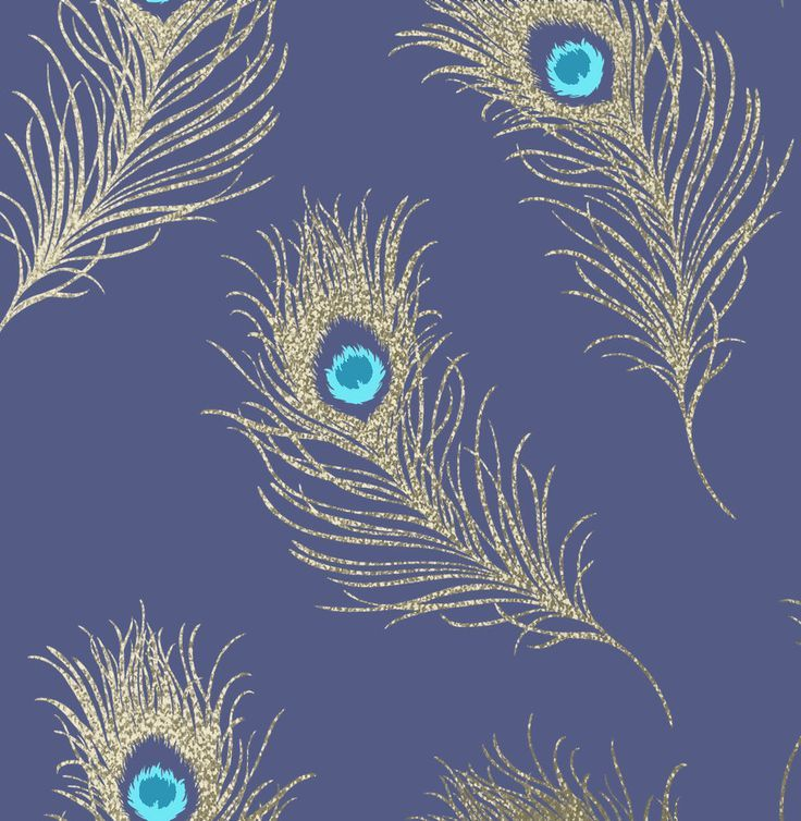 Pin By Sky Davies On Textile And Wallpaper Designs Gold Peacock Wallpaper Peacock Wallpaper Wallpaper