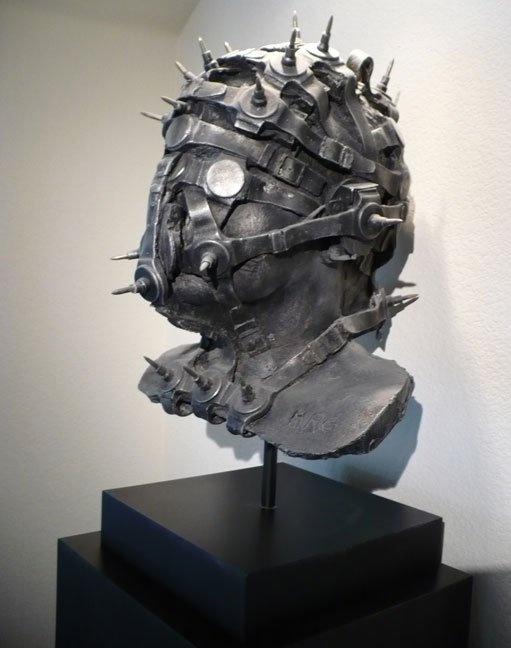 H.R. Giger sculpture