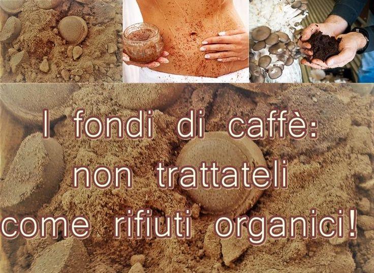 Il futuro è nei fondi di caffè, in tutti i sensi. Dalla Caffeomanzia alla Cosmesi, all'Agricoltura, alla Cucina, al Design ed alla produzione di un Biocombustibile! …