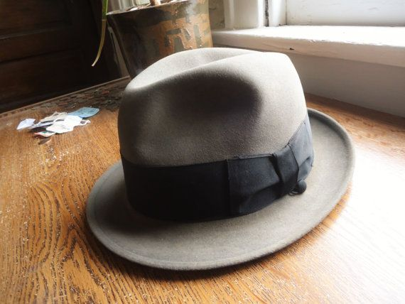 Vintage 50s/60s The Sovereign By Stetson Fedora 7 1/8