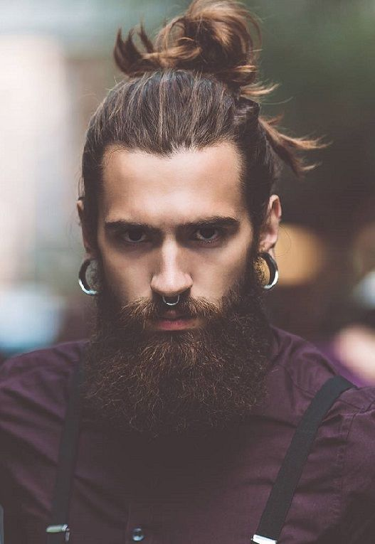 20 top knots with beards for mens 2018 http://www.99wtf.net/men/cool-ideas-for-older-men-hairstyles/
